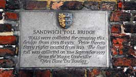 The Toll Bridge charges